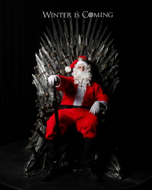 Winter is Coming Santa (Game of Thrones)